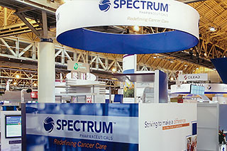 Spectrum Pharmaceuticals trade show